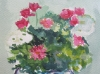 Jarrón con flores II