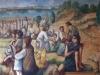 El Milagro de los panes y los peces (detallel)